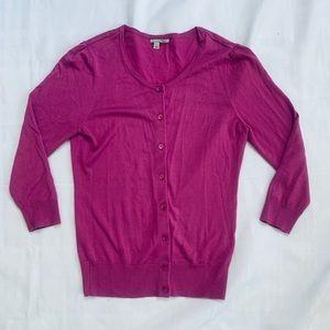 🍄Halogen Women Pink Cardigan Small